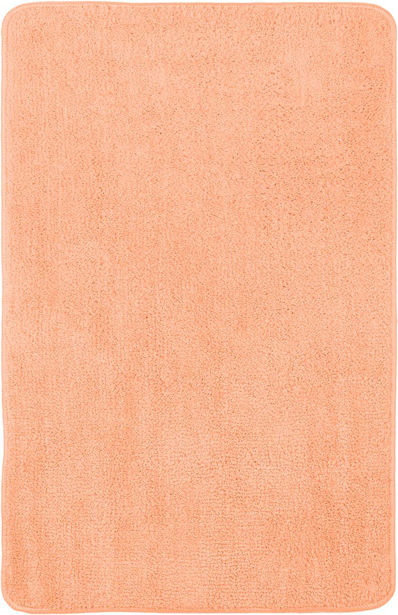 """Коврик для ванной комнаты """"Home Queen"""", цвет: персиковый, 80 х 50 см 57052_ персик"""