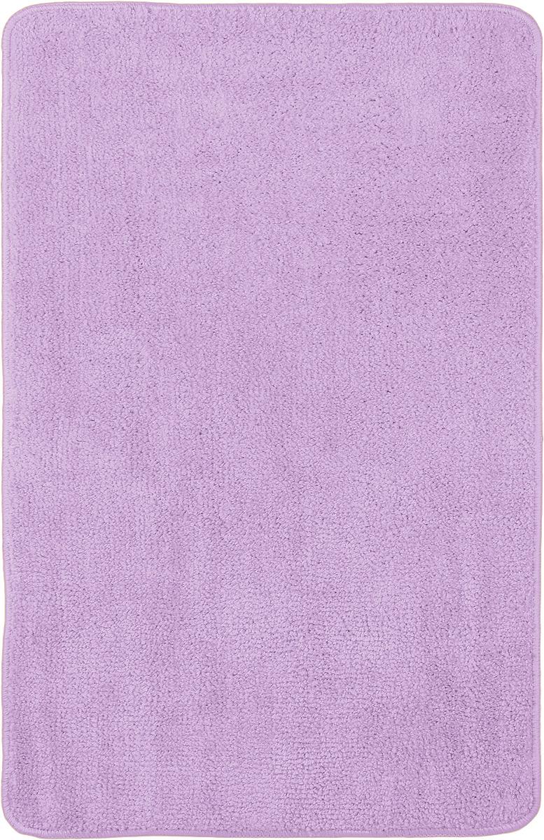 Коврик для ванной комнаты Home Queen, цвет: сиреневый, 80 х 50 см57052_ сиреневыйКоврик для ванной Home Queen изготовлен из микрофибры с латексной основой. Волокно микрофибры превосходно впитывает влагу и создает комфортное, мягкое покрытие. Коврик, выполненный в однотонном сочном цвете, создаст уют и комфорт в ванной комнате. Длинный ворс мягко соприкасается с кожей стоп, вызывая только приятные ощущения. Рекомендации по уходу: - стирать в ручном режиме, - не использовать отбеливатели, - не гладить.