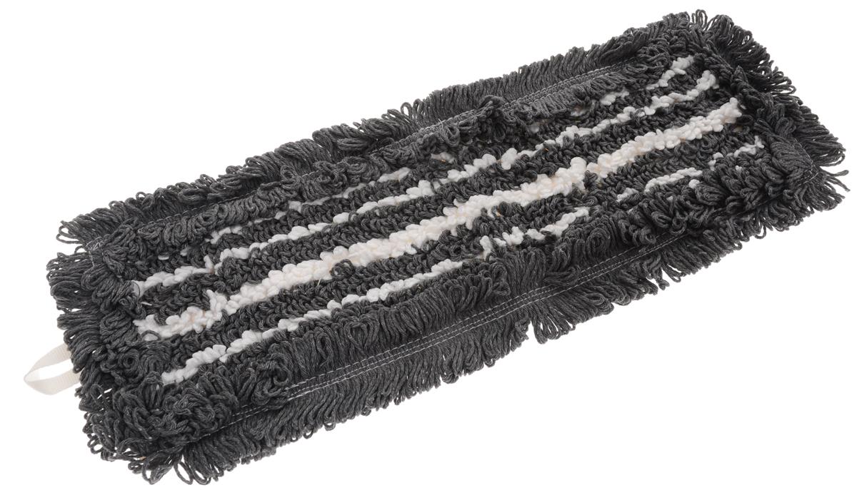 Сменная насадка для швабры Hausmann Eco-micro, цвет: серый, белый, 45 х 13 смHM-45133_серыйСменная насадка к швабрам Hausmann Eco-micro изготовлена из хлопка и микрофибры. Насадка эффективно очищает от сильных загрязнений любые виды напольных покрытий. Стойкая к воздействию моющих средств. Можно стирать в стиральной машине при температуре 60°С. Размер насадки: 45 х 13 см. Длина волокна: 2,5 см.