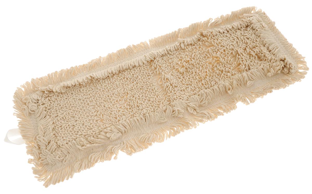 Сменная насадка для швабры Hausmann Eco-perfect, цвет: бежевый, 45 х 13 смHM-45134Сменная насадка к швабрам Hausmann Eco-perfect изготовлена из хлопка. Насадка эффективно очищает от сильных загрязнений любые виды напольных покрытий. Стойкая к воздействию моющих средств. Можно стирать в стиральной машине при температуре 60°С. Размер насадки: 45 х 13 см. Длина волокна: 2,5 см.