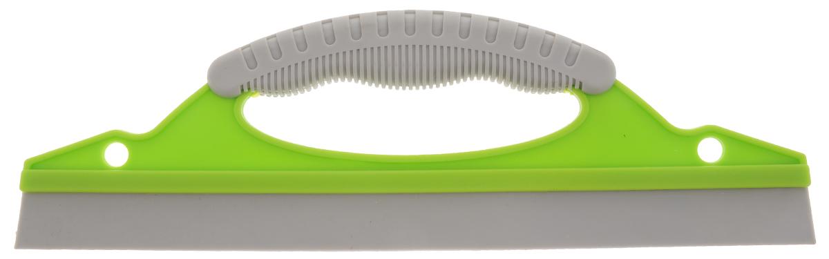 Водосгон Sapfire, с резиновым лезвием, цвет: салатовый, серый, 31 х 9,7 х 2 см0480-SF_Салатовый, серыйВодосгон Sapfire изготовлен из пластика с применением термопластичного резинового лезвия. Водосгон предназначен для эффективного удаления остатков влаги с кузова и стекол автомобиля, тем самым исключая появление пятен и предупреждая старение краски. Водосгон будет также незаменим в дождь, когда на стеклах появляются капли воды. Эргономичная ручка ,с резиновой вставкой предотвращает выскальзывание водосгона из рук. Водосгон Sapfire станет незаменимым аксессуаром в вашем автомобиле. Размер водосгона: 31 х 9,7 х 2 см.