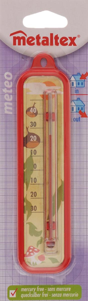 Термометр Metaltex Meteo, цвет: красный29.80.03_ красныйТермометр Metaltex Meteo выполнен из пластика и оснащен шкалой с крупными цифрами. Он предназначен для измерения температуры воздуха в помещении. Экологически безопасный термометр - не содержит ртуть.
