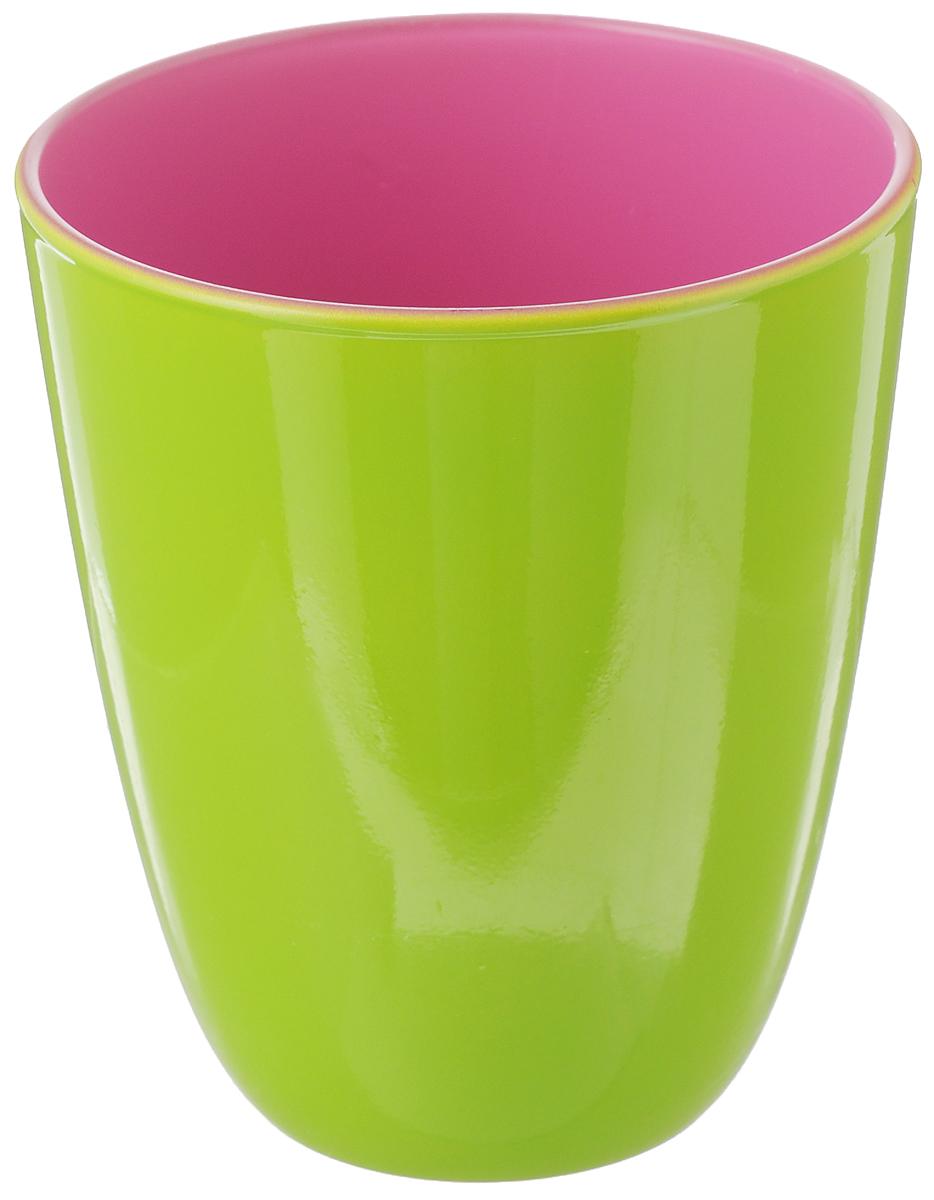 Стакан Luminarc Spring Break, цвет: салатовый, брусничный, 310 млH8264Стакан Luminarc Spring Break изготовлен из высококачественного стекла. Такой стакан прекрасно подойдет для горячих и холодных напитков. Он дополнит коллекцию вашей кухонной посуды и будет служить долгие годы. Можно мыть в посудомоечной машине. Диаметр стакана (по верхнему краю): 8,5 см. Высота: 10 см.