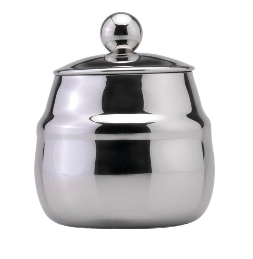 Сахарница BergHOFF Straight, 400 мл1106014Сахарница с крышкой Straight 0,4л выполнена из высококачественной нержавеющей стали 18,10. Украсит дизайн любой кухни. Можно мыть в посудомоечной машине. Упакована в подарочную коробку.