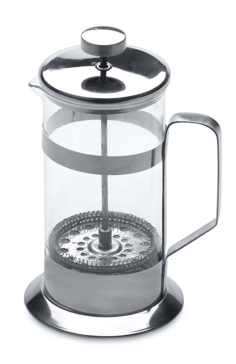 Френч-пресс BergHOFF, 350мл1106804Френч-пресс для кофе,чая Studio 350 мл выполнен из термостойкого стекла и нержавеющей стали. Отлично подходит для заваривания любых сортов кофе, без проблем справится с любым помолом кофе. Помимо кофе, во френч-прессе можно заварить чай. Наружная крышка из нержавеющей стали с полипропиленовой прокладкой. Подходит для использования в посудомоечной машине. Упакован в подарочную коробку.