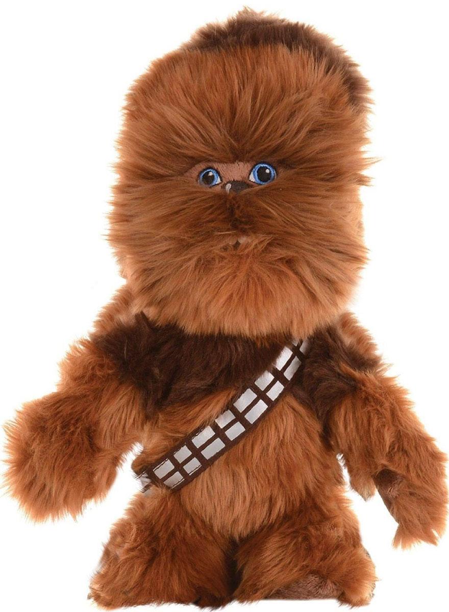 Disney Мягкая игрушка Чубакка 26 см1400616Мягкая игрушка Disney Чубакка обязательно порадует любого поклонника грандиозной космической саги Звездные войны. Игрушка изготовлена из материала высокого качества, подробно детализирована, не имеет пластмассовых деталей, что делает ее безопасной даже для самых юных фанатов. Пожалуй, один из самых узнаваемых персонажей популярной саги - Чубакка, представитель расы Вуки, прошедший весь пусть сражения с Империей. Данная мягкая игрушка порадует своего обладателя вне зависимости от того, знаком ли он со знаменитой вселенной Star Wars или нет.