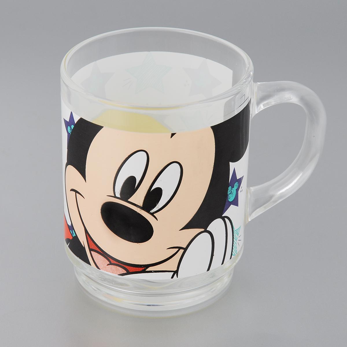 Кружка Luminarc Oh Minnie, 250 млH6441Кружка Luminarc Oh Minnie изготовлена из упрочненного стекла и оформлена ярким рисунком. Такая кружка прекрасно подойдет для горячих и холодных напитков. Она дополнит коллекцию вашей кухонной посуды и будет служить долгие годы. Диаметр кружки (по верхнему краю): 7 см.