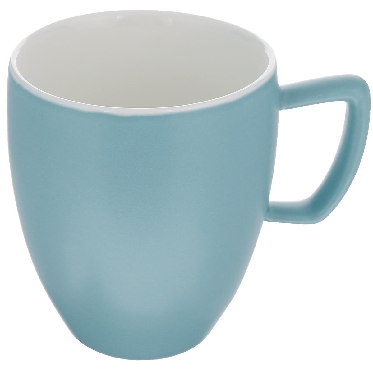 Кружка Tescoma Crema Tone, цвет: серо-голубой, 300 мл387146_серо-голубойКружка Tescoma Crema Tone, изготовленная из высококачественного фарфора, прекрасно дополнит интерьер вашей кухни. Изящный дизайн кружки придется по вкусу и ценителям классики, и тем, кто предпочитает утонченность и изысканность. Кружка Tescoma Crema Tone станет хорошим подарком к любому празднику. Диаметр (по верхнему краю): 8 см. Высота: 10 см.