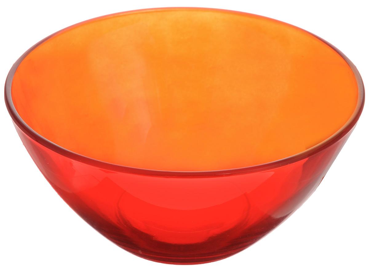 Салатник Luminarc Crazy Colors Red, диаметр 12,5 смJ0217Великолепный круглый салатник Luminarc Crazy Colors Red, изготовленный из ударопрочного стекла, прекрасно подойдет для подачи различных блюд: закусок, салатов или фруктов. Такой салатник украсит ваш праздничный или обеденный стол, а оригинальное исполнение понравится любой хозяйке. Диаметр салатника (по верхнему краю): 12,5 см.
