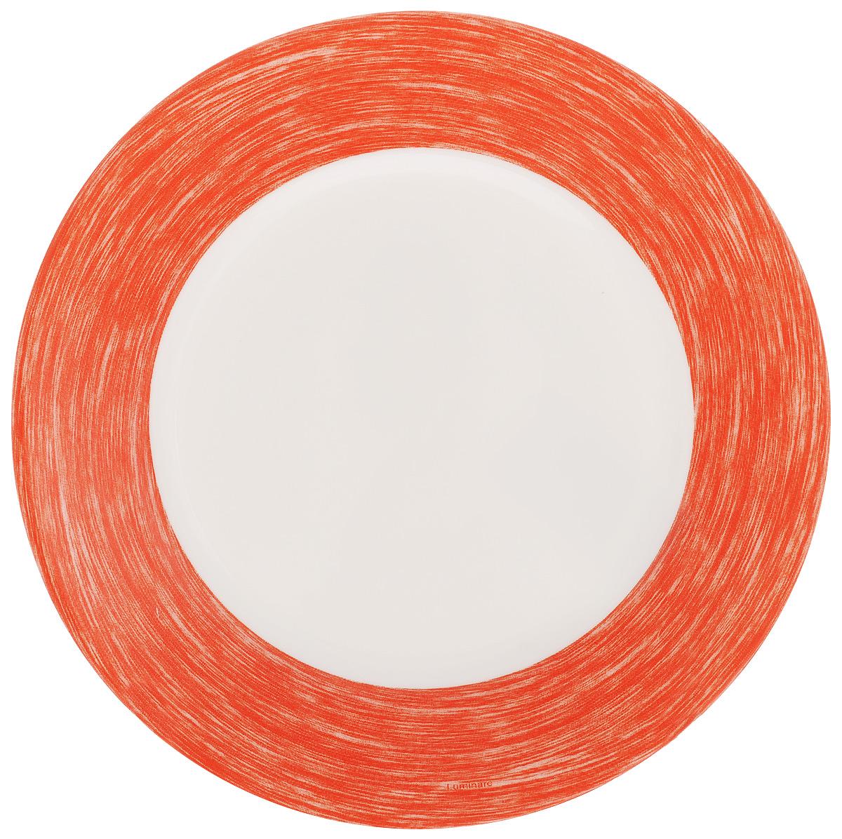 Тарелка десертная Luminarc Color Days Red, диаметр 19 смL1527Десертная тарелка Luminarc Color Days Red, изготовленная из ударопрочного стекла, имеет изысканный внешний вид. Такая тарелка прекрасно подходит как для торжественных случаев, так и для повседневного использования. Идеальна для подачи десертов, пирожных, тортов и многого другого. Она прекрасно оформит стол и станет отличным дополнением к вашей коллекции кухонной посуды. Диаметр тарелки (по верхнему краю): 19 см.