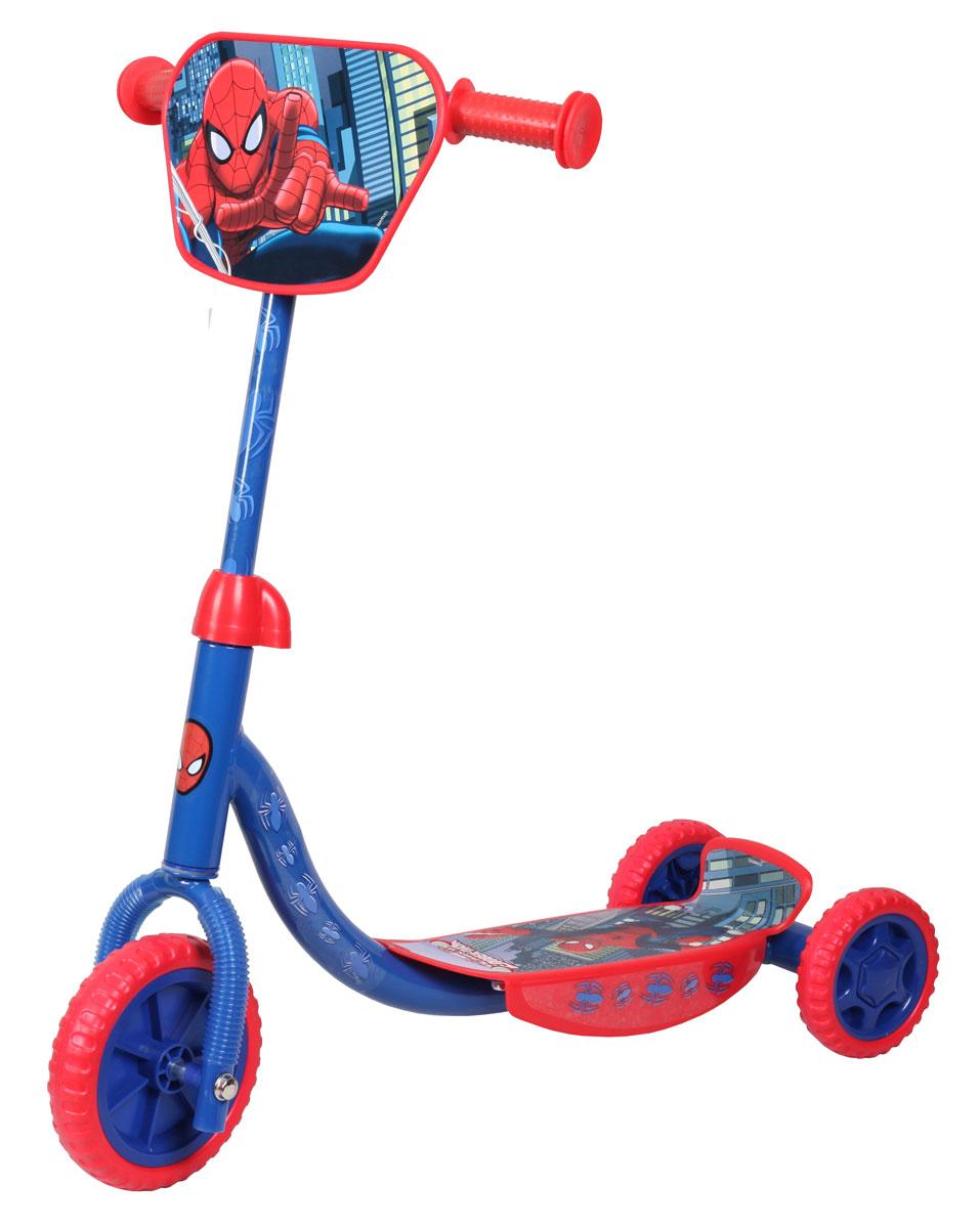 Marvel Spiderman детский трехколесныйТ58466Самокат Marvel Spider-Man, 3-х колесный. EVA колеса, декоративная панель