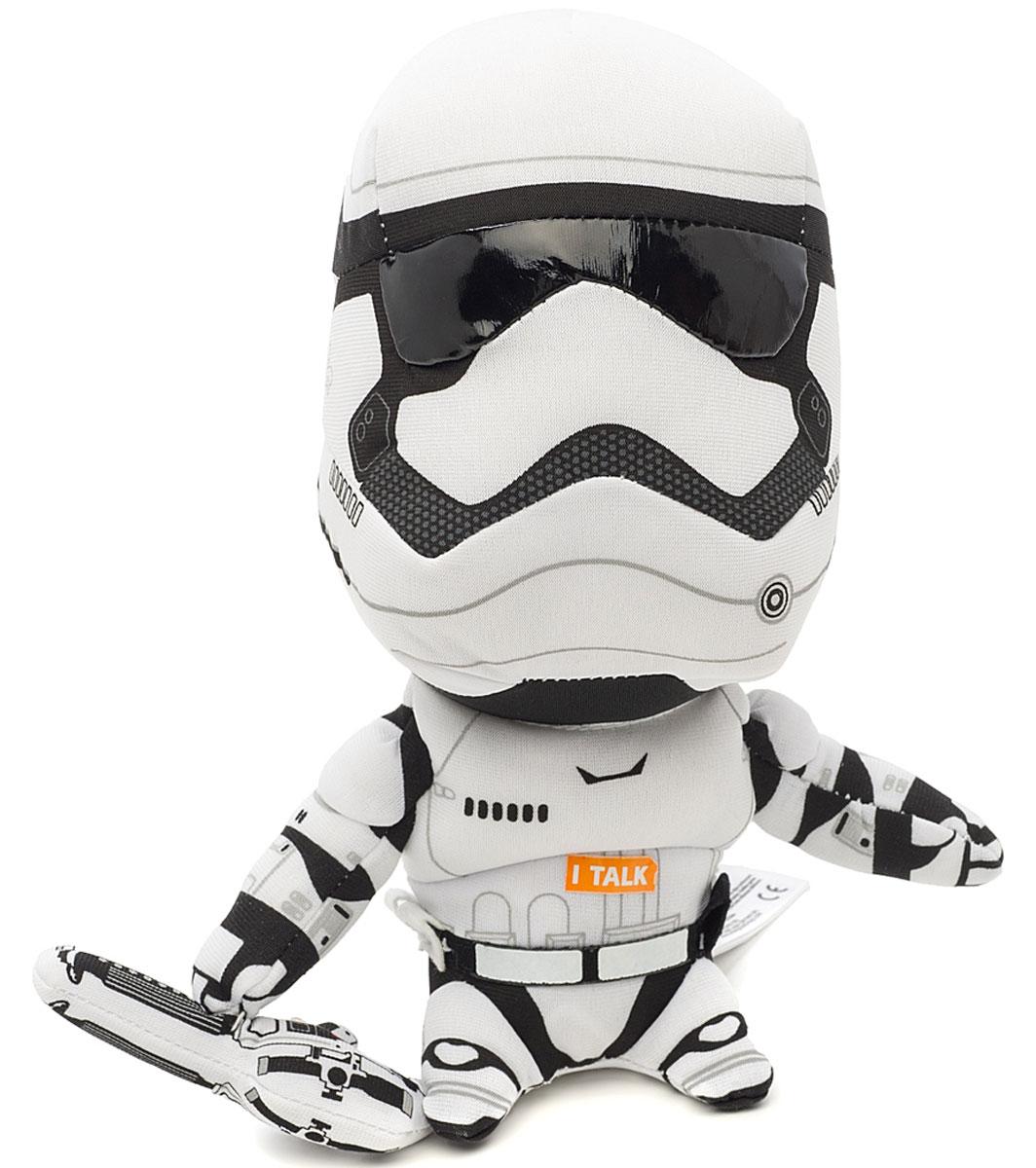 Star Wars Мягкая озвученная игрушка Штурмовик 21 смSW01921Мягкая озвученная игрушка Star Wars Штурмовик порадует любого поклонника знаменитой саги Звездные войны. Игрушка выполнена из высококачественного текстильного материала в виде солдата-штурмовика и отличается удивительной детализацией, что делает этого миниатюрного персонажа очень похожим на своей реальный прототип. При нажатии на живот игрушки, она издаст характерные для персонажа звуки. Оригинальная мягкая игрушка непременно поднимет настроение своему обладателю и станет замечательным подарком любому ребенку или взрослому, увлеченному вселенной Звездных войн. Рекомендуется докупить 3 батарейки напряжением 1,5V типа LR44/AG13 (товар комплектуется демонстрационными).