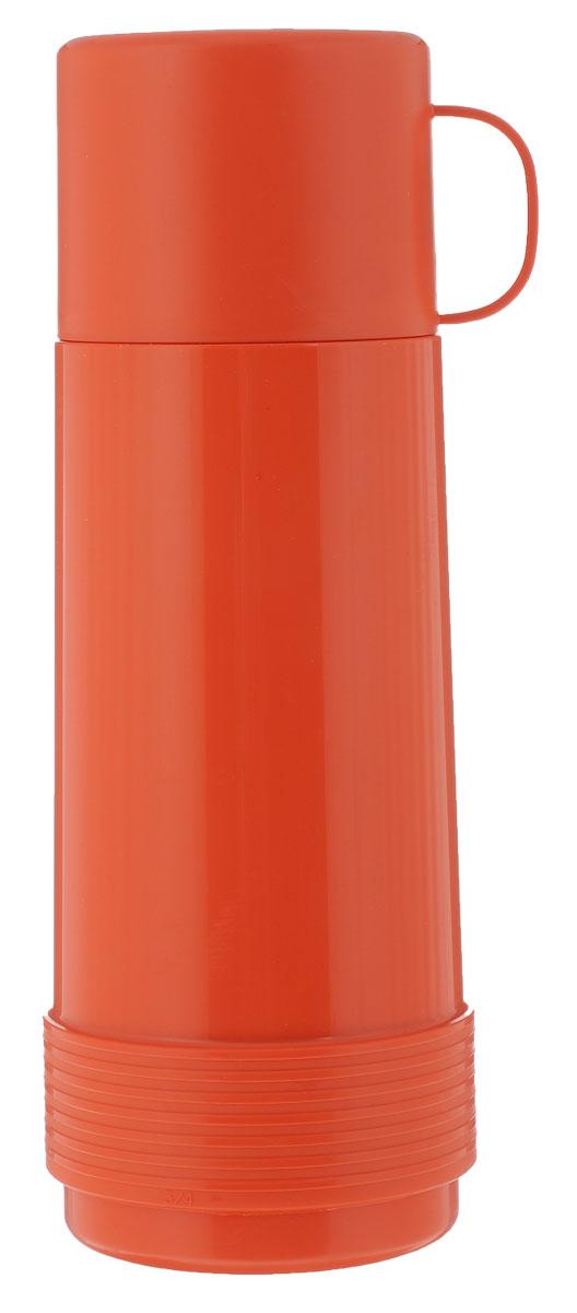 Термос Valira Reus, цвет: оранжевый, 750 мл6122/52Термос Valira Reus - это удобный и легкий термос небольшого размера, который сохраняет температуру напитков до 24 часов. Он выполнен из цветного пищевого пластика, внутри расположена стеклянная колба, а, как известно, стекло позволяет хранить тепло и холод лучше всех других материалов. Если есть необходимость на длительное время сохранить температуру чая, кофе, молока, этот термос будет вашим незаменимым помощником. Герметично закрывается крышкой, не проливается даже при сильной вибрации. Оснащен удобной крышкой-чашечкой, из которой вы с удовольствием можете пить. Подходит для ежедневного использования на работе или учебе, а также для отдыха на природе. Диаметр горлышка: 5,5 см. Высота термоса: 28,5 см. Диаметр основания: 9 см. Диаметр крышки-чашки: 9 см. Высота крышки-чашки: 7 см.