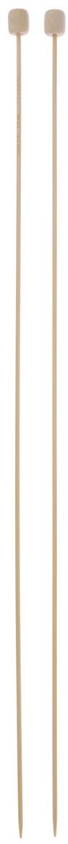 Спицы Clover, бамбуковые, прямые, диаметр 2 мм, длина 33 см, 2 шт3012Спицы для вязания Clover изготовлены из бамбука. Спицы прочные, легкие, гладкие, удобные в использовании. Ограничители препятствуют соскальзыванию петель. Бамбуковые спицы предназначены для вязания шапочек, варежек, носков и других вещей. Вы сможете вязать для себя и делать подарки друзьям. Рукоделие всегда считалось изысканным, благородным делом. Работа, сделанная своими руками, долго будет радовать вас и ваших близких.