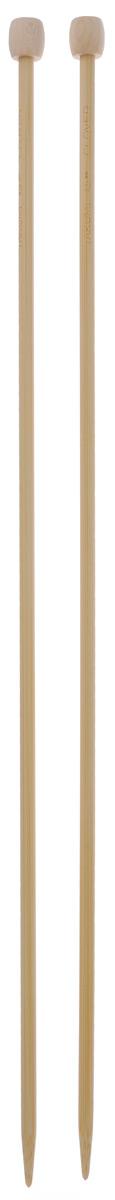 Спицы Clover, бамбуковые, прямые, диаметр 4,5 мм, длина 33 см, 2 шт3012Спицы для вязания Clover изготовлены из бамбука. Спицы прочные, легкие, гладкие, удобные в использовании. Ограничители препятствуют соскальзыванию петель. Бамбуковые спицы предназначены для вязания шапочек, варежек, носков и других вещей. Вы сможете вязать для себя и делать подарки друзьям. Рукоделие всегда считалось изысканным, благородным делом. Работа, сделанная своими руками, долго будет радовать вас и ваших близких.