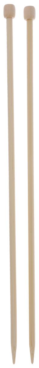 Спицы Clover, бамбуковые, прямые, диаметр 6 мм, длина 33 см, 2 шт3012Спицы для вязания Clover изготовлены из бамбука. Спицы прочные, легкие, гладкие, удобные в использовании. Ограничители препятствуют соскальзыванию петель. Бамбуковые спицы предназначены для вязания шапочек, варежек, носков и других вещей. Вы сможете вязать для себя и делать подарки друзьям. Рукоделие всегда считалось изысканным, благородным делом. Работа, сделанная своими руками, долго будет радовать вас и ваших близких.