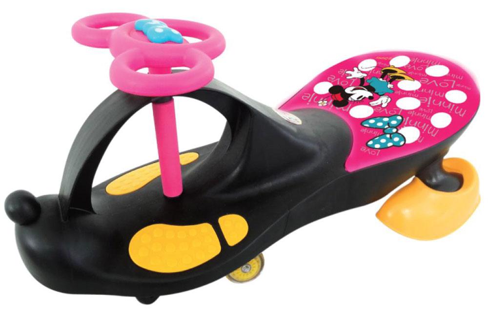 Disney Каталка для девочек цвет черный розовыйТ56876Оригинальная каталка для Девочек с лицензией Дисней на 3-х колесах