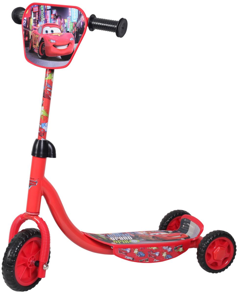 Disney Самокат детский трехколесный ТачкиТ58424Самокат Disney Тачки, 3-х колесный. EVA колеса, декоративная панель