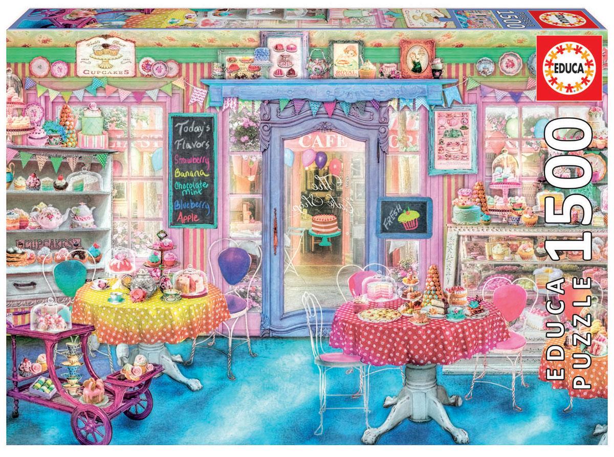 Educa Пазл Магазин сладостей16769Пазл 1500 деталей Магазин сладостей. Размер собранного пазла 85х60