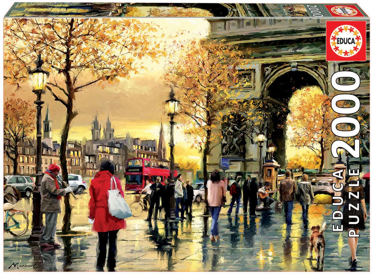 Educa Пазл Триумфальная арка16778Пазл 2000 деталей Триумфальная арка.Размер собранного пазла 96х68