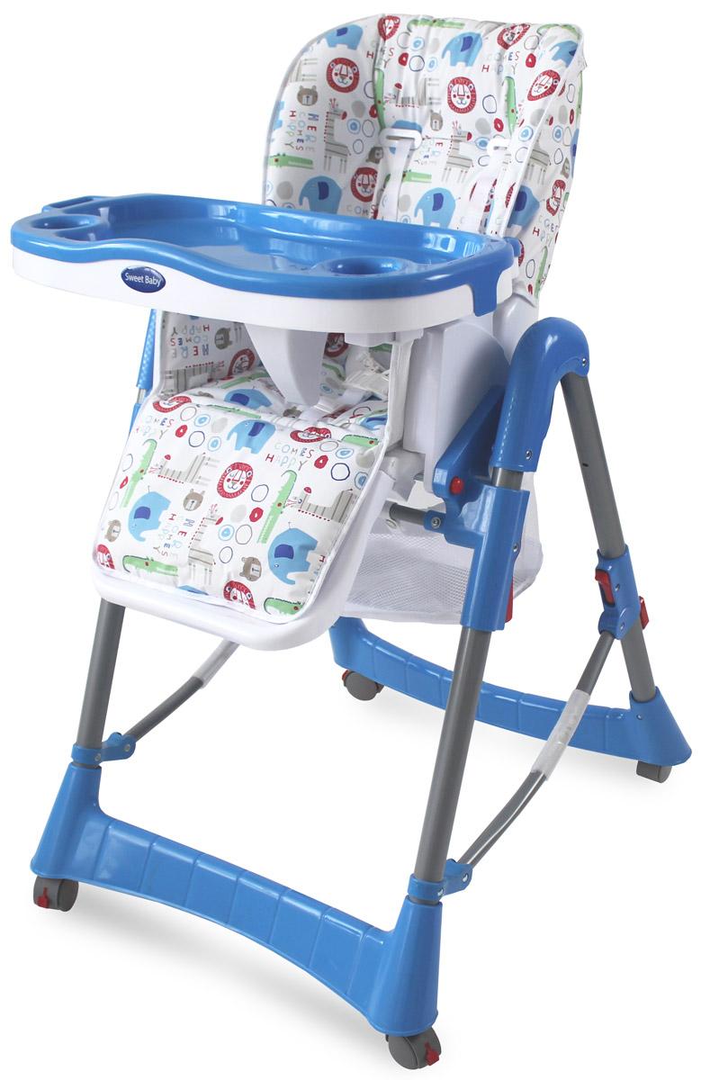 Sweet Baby Стульчик для кормления Elefante Blu