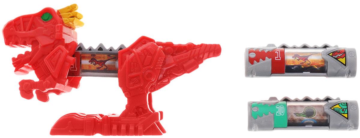 Power Rangers Игровой набор Могучие рейнджеры Динозорд цвет красный42250_ДинозордИгровой набор Power Rangers Могучие рейнджеры. Динозорд состоит из фигурки Динозорда и двух динозарядов. Фигурка, выполненная из пластика в виде раздвижного Динозорда красного цвета, станет любимой игрушкой вашего ребенка. Игрушка создана по мотивам приключенческого фильма Power Rangers. Могучие рейнджеры - это новое поколение героев, которые унаследовали силу древних воинов и должны встать на защиту Земли. Эта игрушка обязательно понравится ребенку, он часами будет играть с ней, придумывая захватывающие истории для героев.