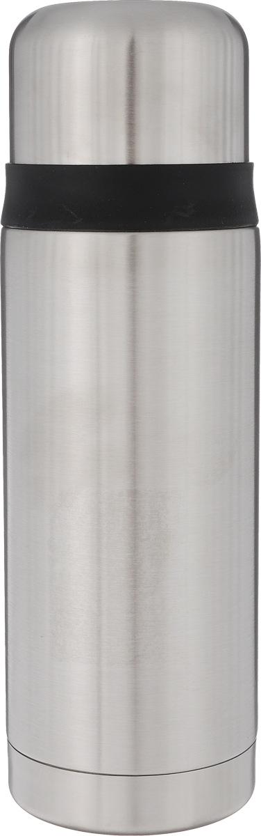 """Термос Leifheit """"Coco"""", цвет: стальной, черный, 750 мл"""