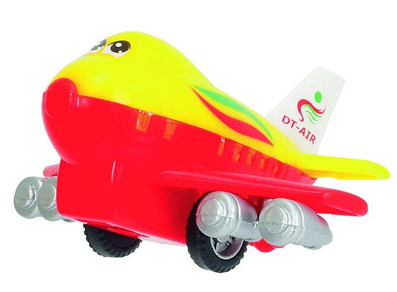 Dickie Toys Веселый самолет инерционный цвет желтый красный ( 3345475_желт/красн )