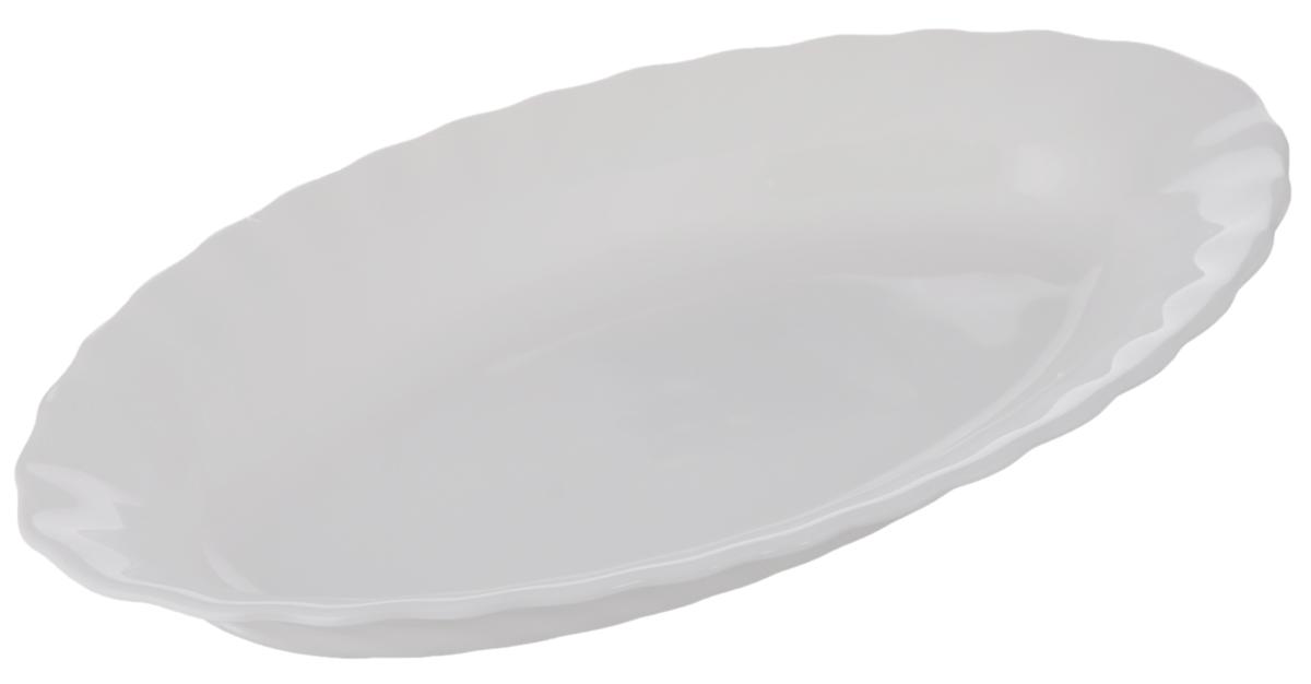Селедочница Luminarc Trianon, 22 х 12,5 смH4126Селедочница Luminarc Trianon изготовлена из высококачественного стекла. Изделие идеально подходит для сервировки сельди в нарезке, а также разных видов закусок. Такая оригинальная селедочница станет изысканным украшением вашего праздничного стола. Размер (по верхнему краю): 22 х 12,5 см.