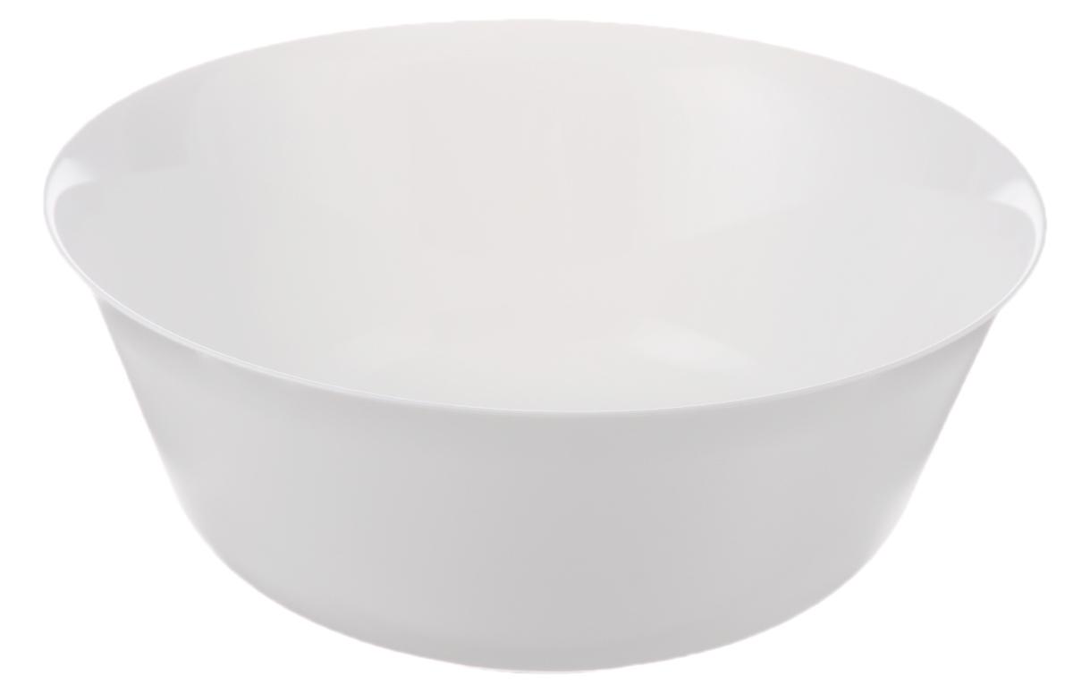 Салатник Luminarc Everyday, диаметр 24 смG0570Салатник Luminarc Everyday выполнен из ударопрочного стекла. Дизайн придется по вкусу и ценителям классики, и тем, кто предпочитает утонченность и изысканность. Салатник Luminarc Everyday идеально подойдет для сервировки стола и станет отличным подарком к любому празднику. Можно использовать в СВЧ-печи и мыть в посудомоечной машине. Диаметр (по верхнему краю): 24 см.