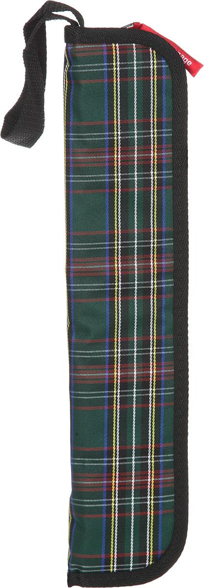 Пенал для кистей Antan, цвет: нефрит, зеленый. 6-5016-501Практичный пенал для кистей Antan изготовлен из текстиля, оформлен стильным принтом. Изделие содержит одно отделение, которое закрывается на молнию. Внутри расположены восемь индивидуальных фиксаторов для принадлежностей и два общих отделения для принадлежностей. Пенал оснащен петлей, которая позволит зафиксировать его в удобном месте. Стильный пенал для кистей - находка для настоящего художника!