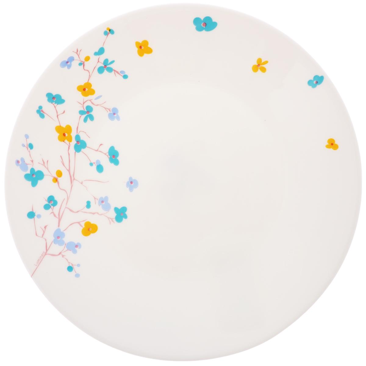 Тарелка десертная Luminarc Zen Essence, диаметр 19,5 смJ3014Десертная тарелка Luminarc Zen Essence, изготовленная из ударопрочного стекла, имеет изысканный внешний вид. Такая тарелка прекрасно подходит как для торжественных случаев, так и для повседневного использования. Идеальна для подачи десертов, пирожных, тортов и многого другого. Она прекрасно оформит стол и станет отличным дополнением к вашей коллекции кухонной посуды. Диаметр тарелки (по верхнему краю): 19,5 см.