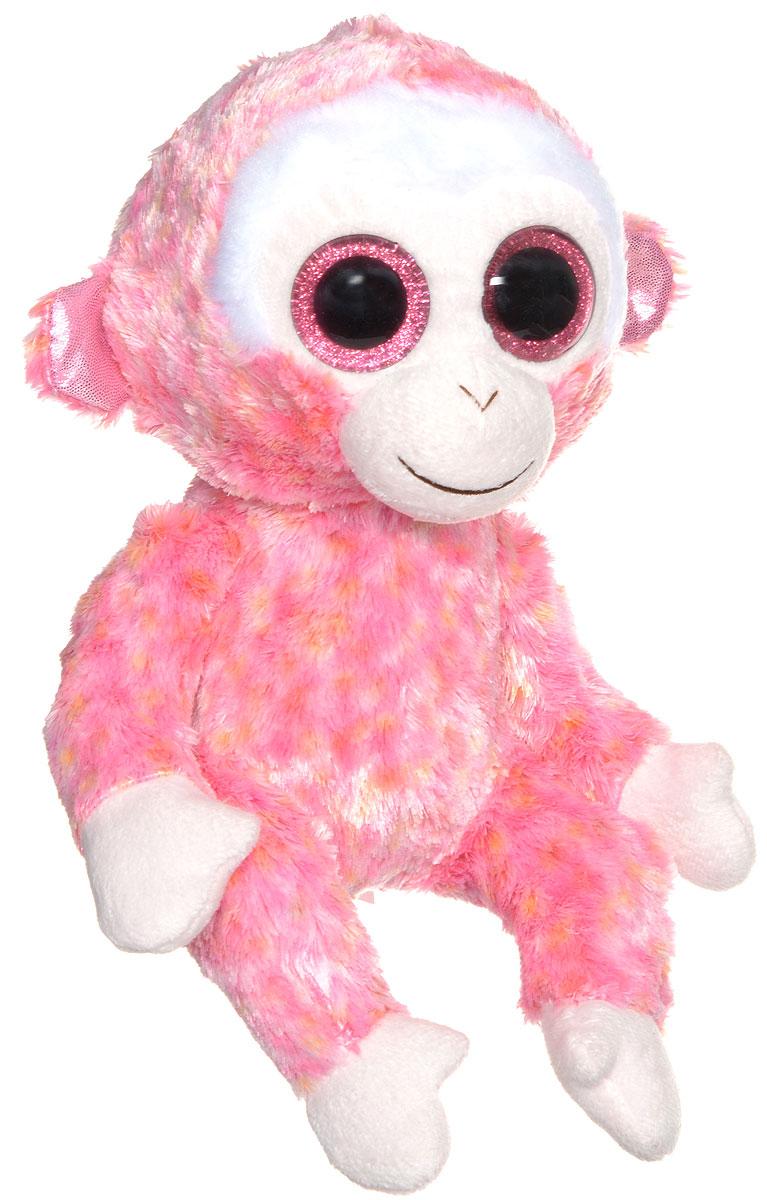 TY Мягкая игрушка Обезьянка Ruby 23 см37010Забавная мягкая игрушка TY Обезьянка Ruby принесет радость и подарит своему обладателю мгновения нежных объятий и приятных воспоминаний. Выполненная в виде обезьянки с большими глазками, вызовет умиление и улыбку у каждого, кто ее увидит. Она станет замечательным подарком как ребенку, так и взрослому. Специальные гранулы, используемые при ее набивке, способствуют развитию мелкой моторики рук малыша. Великолепное качество исполнения делают эту игрушку чудесным подарком к любому празднику.