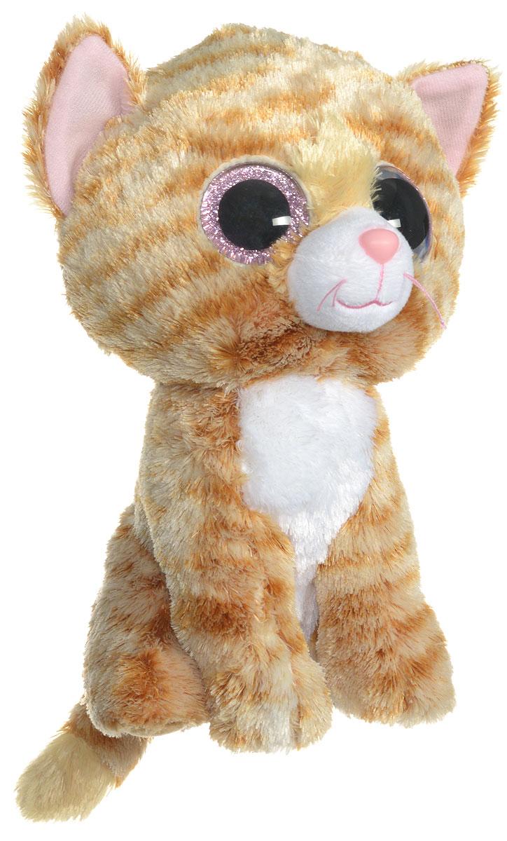 TY Мягкая игрушка Котенок Tabitha 22 см37034Мягкая игрушка TY Котенок Tabitha - это прекрасный подарок для вашего малыша. Игрушка отличается оригинальным дизайном и качественным исполнением. Выполнена из безопасных материалов в виде очаровательного полосатого котенка. Носик и глазки игрушки выполнены из пластика. Специальные гранулы, используемые при ее набивке, способствуют развитию мелкой моторики рук малыша. Котенок станет верным другом для каждого ребенка, подарит множество приятных мгновений и непременно поднимет настроение. Эта милая и забавная игрушка обязательно понравится вашему ребенку.