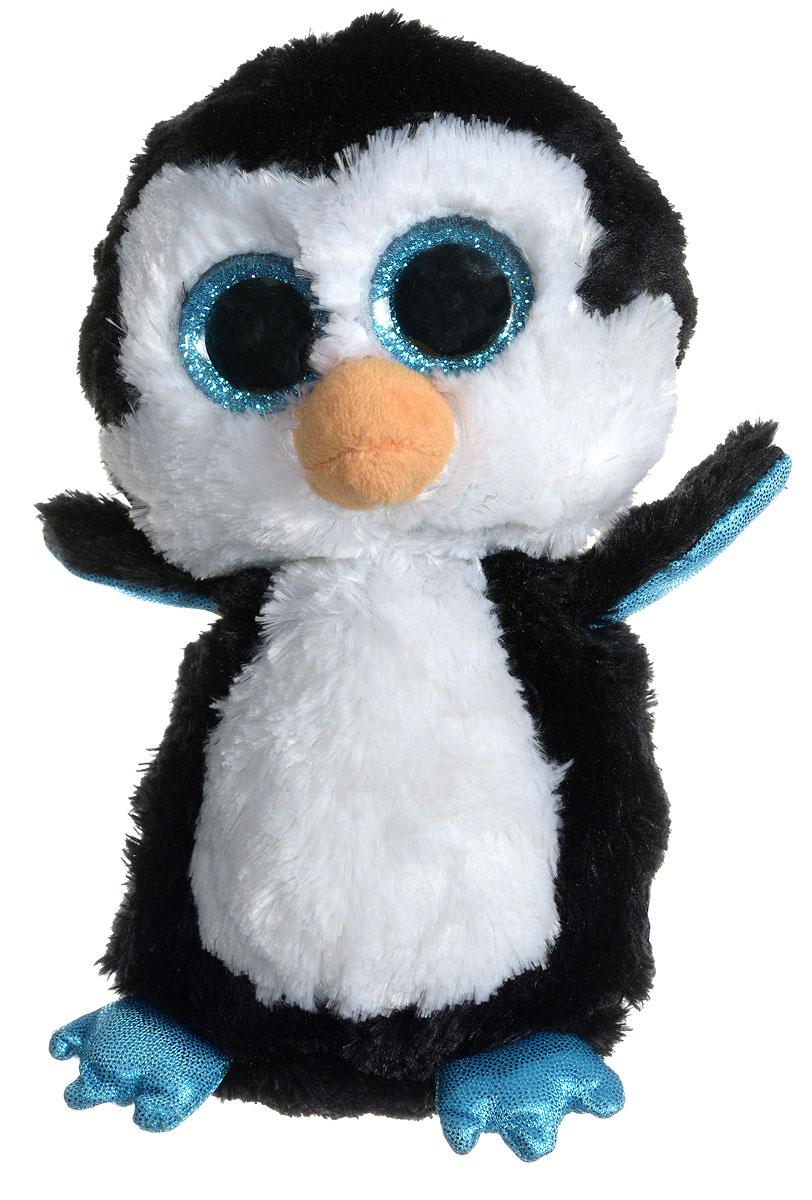 TY Мягкая игрушка Пингвин Waddles 15 см36008Мягкая игрушка TY Пингвин Waddles обязательно вызовет положительные эмоции и улыбку у каждого. Игрушка изготовлена из безопасных, приятных на ощупь материалов в виде милого пингвинчика. У игрушки блестящие голубые лапки, большие глазки и мягкая шубка. Гранулы из пластика, используемые при набивке игрушки, способствуют развитию мелкой моторики рук ребенка. Симпатичная игрушка будет радовать вашего ребенка, а также способствовать полноценному и гармоничному развитию его личности. Великолепное качество исполнения делают эту игрушку чудесным подарком к любому празднику, как для ребенка, так и для взрослого!