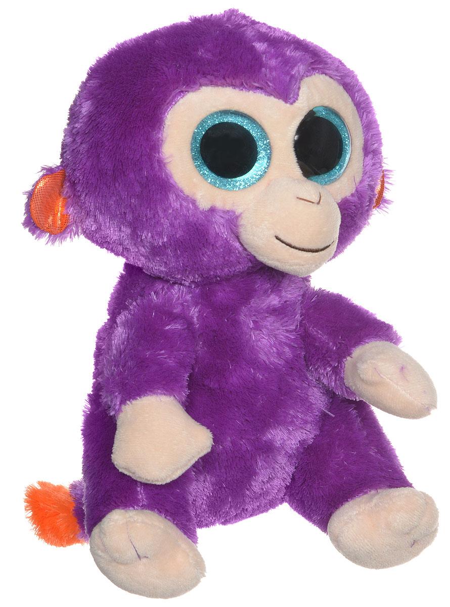 TY Мягкая игрушка Обезьянка Grapes 22 см37045Мягкая игрушка TY Обезьянка Grapes - символ 2016 года - прекрасный подарок для вашего малыша. Изготовлена игрушка из высококачественных нетоксичных материалов, абсолютно безопасных для ребенка. Обезьянка с большими глазками и с милой улыбкой обязательно принесет радость и подарит своему обладателю мгновения нежных объятий и приятных воспоминаний. Специальные гранулы, используемые при ее набивке, способствуют развитию мелкой моторики рук малыша. Обезьянка станет верным другом для каждого ребенка, подарит множество приятных мгновений и непременно поднимет настроение. Эта милая и забавная игрушка обязательно понравится вашему ребенку.