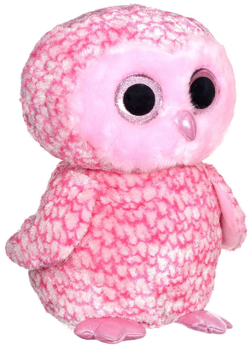 TY Мягкая игрушка Совенок Pinky 41 см36608Очаровательная мягкая игрушка TY Совенок Pinky изготовлена из нетоксичных экологически чистых материалов. Большие сверкающие глазки выполнены из пластика, клюв - из текстиля. Зверек обладает мягкой шерсткой, выполненной из текстильных материалов. Специальные гранулы, используемые при ее набивке, способствуют развитию мелкой моторики рук малыша. Удивительно мягкая игрушка принесет радость и подарит своему обладателю мгновения нежных объятий и приятных воспоминаний. Великолепное качество исполнения делают эту игрушку чудесным подарком к любому празднику. Трогательная и симпатичная, она непременно вызовет улыбку у детей и взрослых.