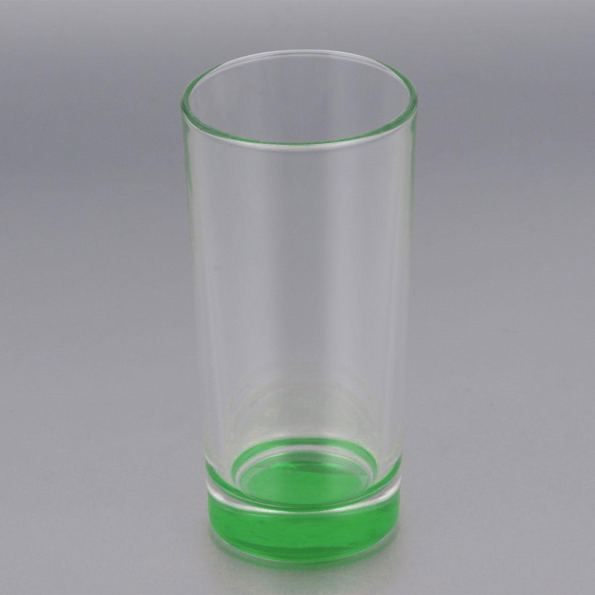 Стакан высокий ОСЗ Лак, цвет: зеленый, 280 мл03С1018 ЛМ_зеленыйВысокий стакан ОСЗ Лак изготовлен из высококачественного стекла, которое изысканно блестит и переливается на свету. Дно стакана окрашено. Стакан прозрачный, но при его наклоне создается оптическая иллюзия того, что и сам стакан окрашен. Такой стакан отлично дополнит вашу коллекцию кухонной утвари и порадует вас ярким необычным дизайном и практичностью. Диаметр стакана: 7 см. Высота стакана: 14 см.