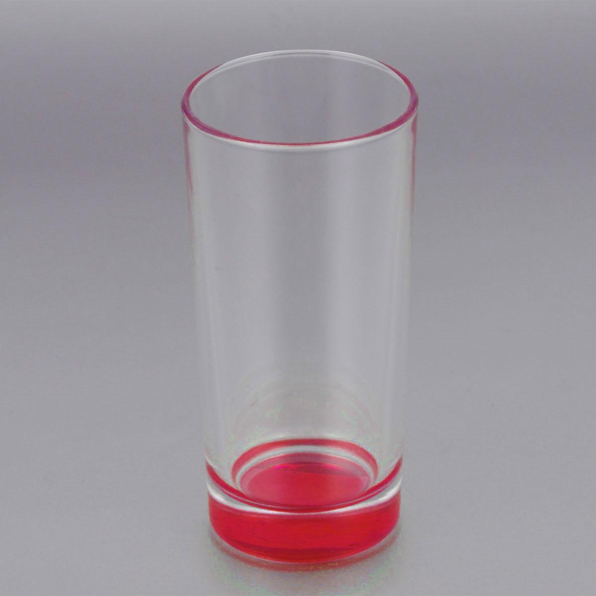 Стакан высокий ОСЗ Лак, цвет: красный, 280 мл03С1018 ЛМ_красныйВысокий стакан ОСЗ Лак изготовлен из высококачественного стекла, которое изысканно блестит и переливается на свету. Дно стакана окрашено. Стакан прозрачный, но при его наклоне создается оптическая иллюзия того, что и сам стакан окрашен. Такой стакан отлично дополнит вашу коллекцию кухонной утвари и порадует вас ярким необычным дизайном и практичностью. Диаметр стакана: 7 см. Высота стакана: 14 см.