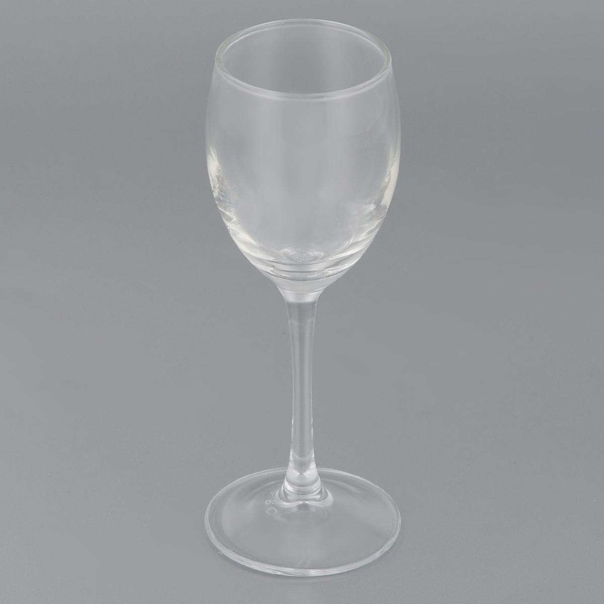 Фужер Luminarc Эталон, 65 млJ3906Фужер Luminarc Эталон, изготовленный из высококачественного стекла, идеально подходит для сервировки стола. Он не только украсит ваш стол, но подчеркнет прекрасный вкус хозяйки. Диаметр фужера (по верхнему краю): 4,2 см. Высота фужера: 14 см.