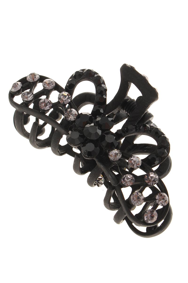 Заколка-краб Migura, цвет: черный. NOBZ0998