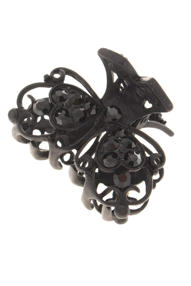 Заколка-краб Migura, цвет: черный. NOBZ0999