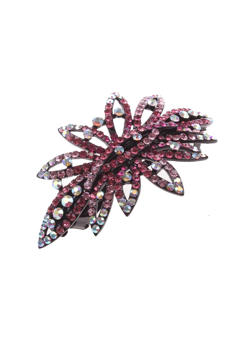 Заколка для волос Migura, цвет: розовый, черный. NOCA0036