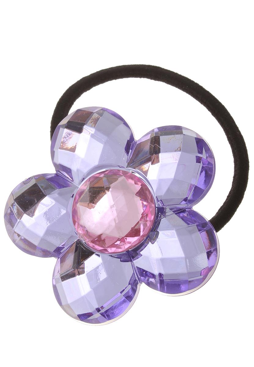 Резинка для волос Migura, цвет: черный, сиреневый, розовый. NOG0016