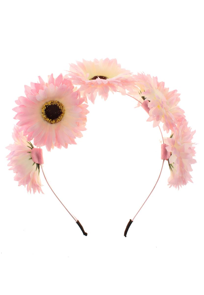 Ободок Migura, цвет: розовый. NOL0005