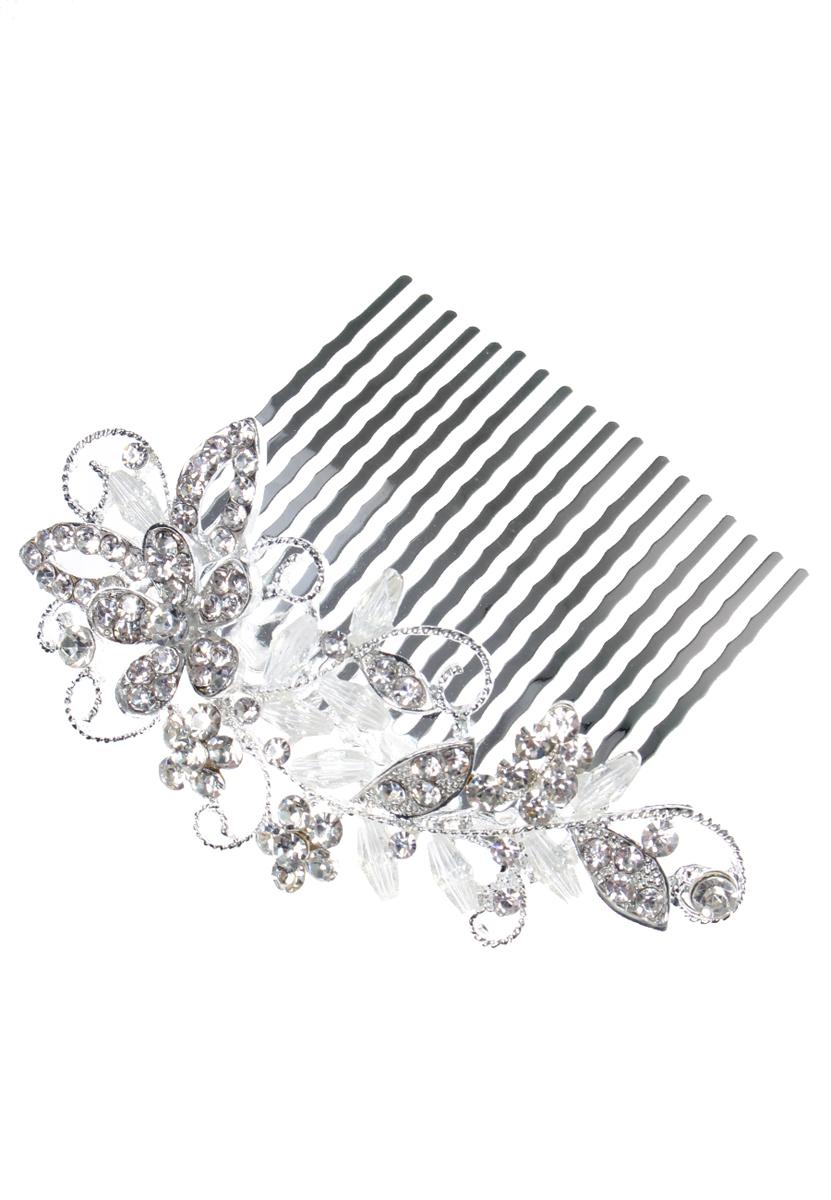 Гребень для волос Migura, цвет: белый, серебряный. NOL0084