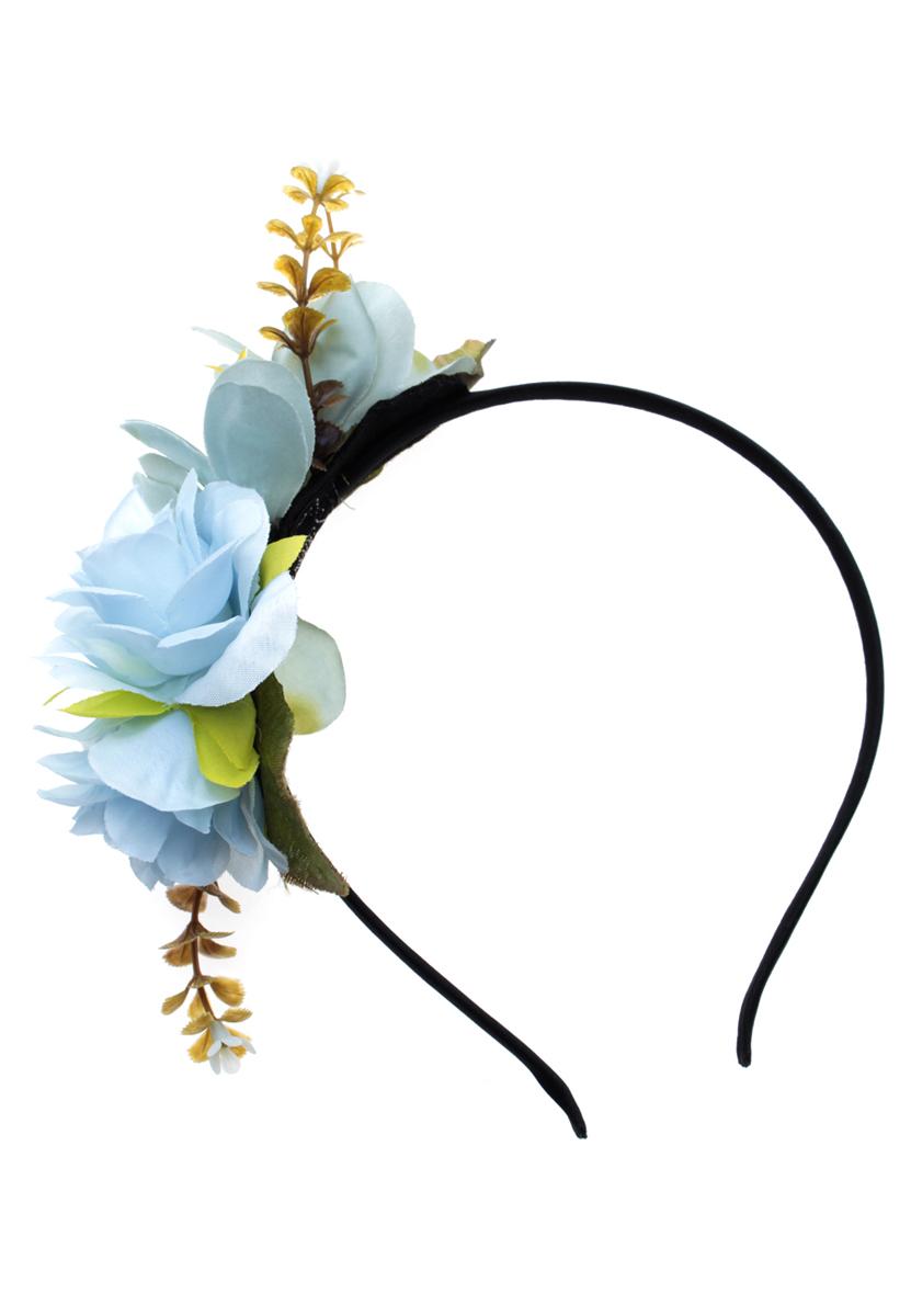 Ободок Migura, цвет: мультиколор. NOY0018NOY0018Ободок Migura выполнен из металла и украшен сбоку декоративным элементом в виде цветка. Ободок позволяет не только убрать непослушные волосы со лба, но и придать вашему образу романтичности и очарования. Правильно подобранный к цветовой гамме одежды, ободок сделает вас стильной и женственной и подчеркнет красивые черты вашего лица.