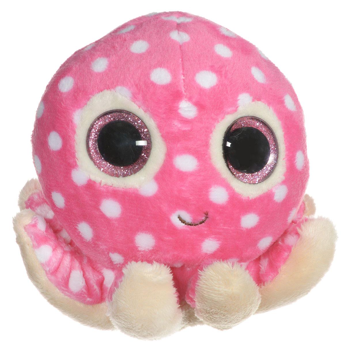TY Мягкая игрушка Осьминог Ollie 11 см36083Забавная мягкая игрушка TY Осьминог Ollie, выполненная в виде розового осьминога, непременно вызовет улыбку и симпатию и у детей, и у взрослых. Трогательный осьминожек с выразительными блестящими глазками изготовлен из высококачественного и безопасного мягкого текстильного материала. Удобный небольшой размер игрушки позволит брать его с собой на прогулку и малышу не придется расставаться со своим новым другом. Удивительно мягкая игрушка принесет радость и подарит своему обладателю мгновения нежных объятий и приятных воспоминаний. Специальные гранулы, используемые при ее набивке, способствуют развитию мелкой моторики рук малыша.