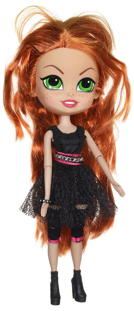 Beatrix Кукла Ларк1001Яркая кукла Beatrix Ларк - одна из участниц мега-популярной девичьей кукольной группы The Beatrix Girls. У куклы ярко-рыжие прямые волосы и чарующие зеленые глаза. Она любит активность, экстрим, удобную и спортивную одежду. Имя Ларк означает Жаворонок. Одета куколка в пышное платье с черным кружевом и в модные ботфорты. На ручке у Ларк красуется браслет с заклепками. Ну чем не рок-звезда? Это подвижная кукла с шарнирами, имеющая 10 точек артикуляции. За счет этого красотке можно придавать различные позы. Кукла выполнена очень аккуратно из качественных и совершенно безопасных для детей материалов. Соберите всех куколок серии, и вы сможете устроить настоящий рок-концерт!