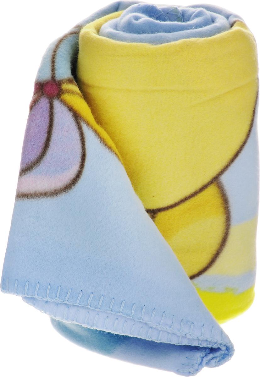 Плед флисовый Disney Винни и его друзья, цвет: голубой, желтый, 130 х 160 см60602_рисунок 2Нежный и теплый флисовый плед Disney Винни и его друзья может послужить удобным покрывалом для детской кроватки или согревать малыша вместо одеяла. Выполненный из полиэстера с использованием безопасных гиппоаллергенных красителей, плед не теряет формы и цвета после многочисленных стирок и не мнется. Яркий рисунок из известного мультфильма радует глаз и вызывает у ребенка положительные эмоции.